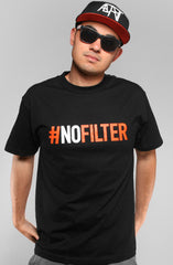 Equipto X Adapt :: No Filter (Men's Black Tee)