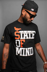 State of Mind :: World Champs Edition (Men's Black/Orange/Gold Tee)