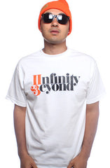 Infinity & Beyond (Men's White/Orange Tee)
