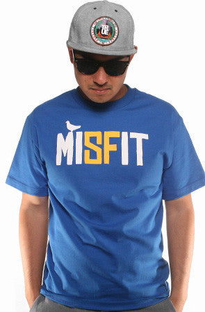 Misfit (Men's Royal Tee)