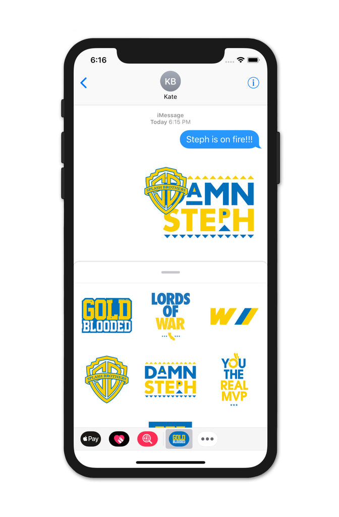 Gold Blooded Dubs Edition (iOS Sticker App)
