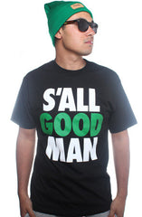 S'All Good (Men's Black Tee)