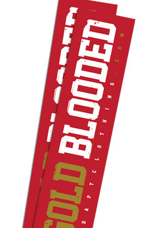 Gold Blooded (Red Sticker 2-Pack)