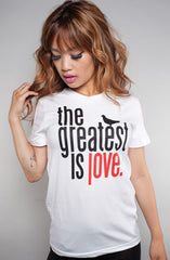 Great Love (Women's White Tee)