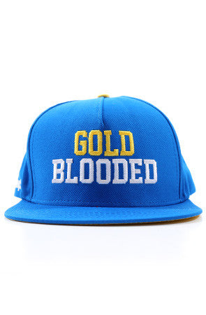 GOLD BLOODED (Royal Snapback Cap)