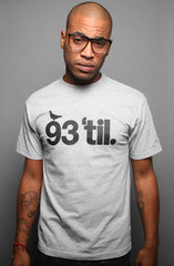 Hieroglyphics X Adapt :: 93 'til (Men's Heather Tee)
