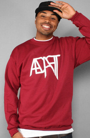 Low Go (Men's Cardinal Crewneck)