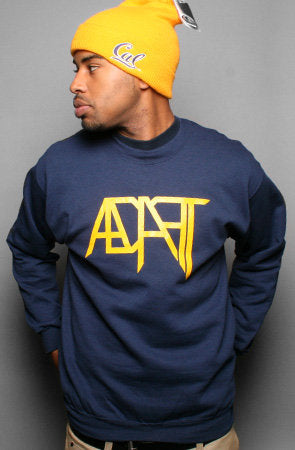 Low Go (Men's Navy Crewneck)