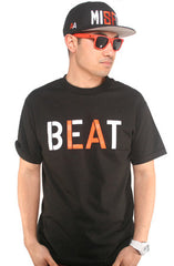 Beat LA (Men's Black/Orange Tee)