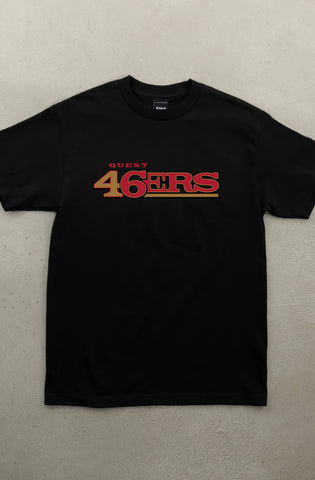 Quest 46 (Men's Black Tee)