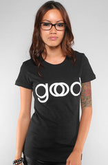 Good God (Women's Black Tee)