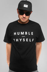 Humble Thyself (Men's Black Tee)