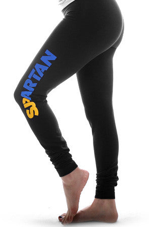 Spartan (Women's Black Leggings)