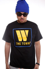 The Town (Men's Black Tee)