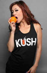 Kush (Women's Black Tank Top)