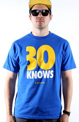30 Knows (Men's Royal Tee)