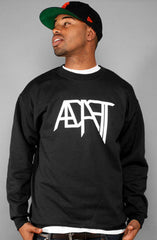 Low Go (Men's Black/White Crewneck)