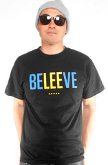 Beleeve (Men's Black Tee)