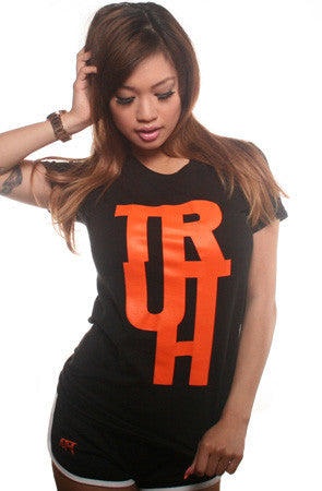 TRUE X Adapt :: Truth (Women's Black Tee)