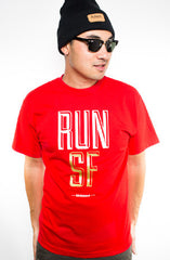 Colin Kaepernick X Adapt :: Run SF (Men's Red Tee)