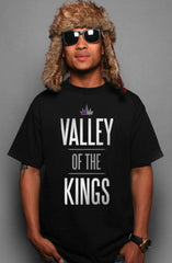 Valley of the Kings (Men's Black Tee)