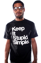 Stupid Simple (Men's Black Tee)