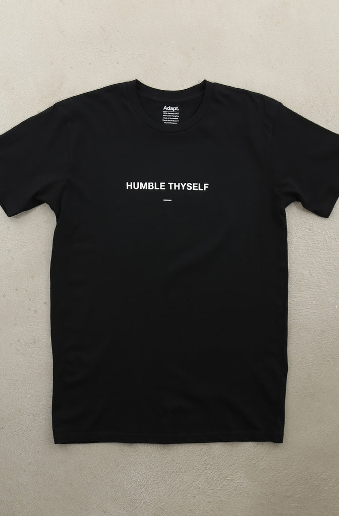 Humble Thyself II (Men's Black A1 Tee)