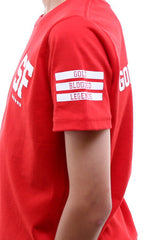 Gold Blooded Legends :: 21 (Youth Unisex Red Tee)