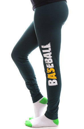 Baseball (Women's Hunter Leggings)