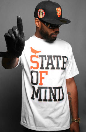 State of Mind :: World Champs Edition (Men's White/Orange/Gold Tee)