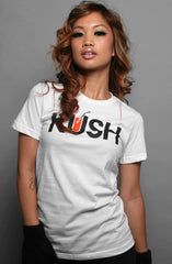 Kush (Women's White Tee)