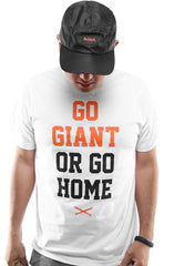Go Giant (Men's White Tee)