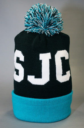 Fully Laced X Adapt :: SJC (Black/Teal Beanie)