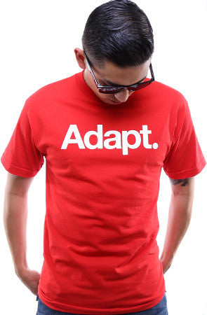 CTA (Men's Red/White Tee)