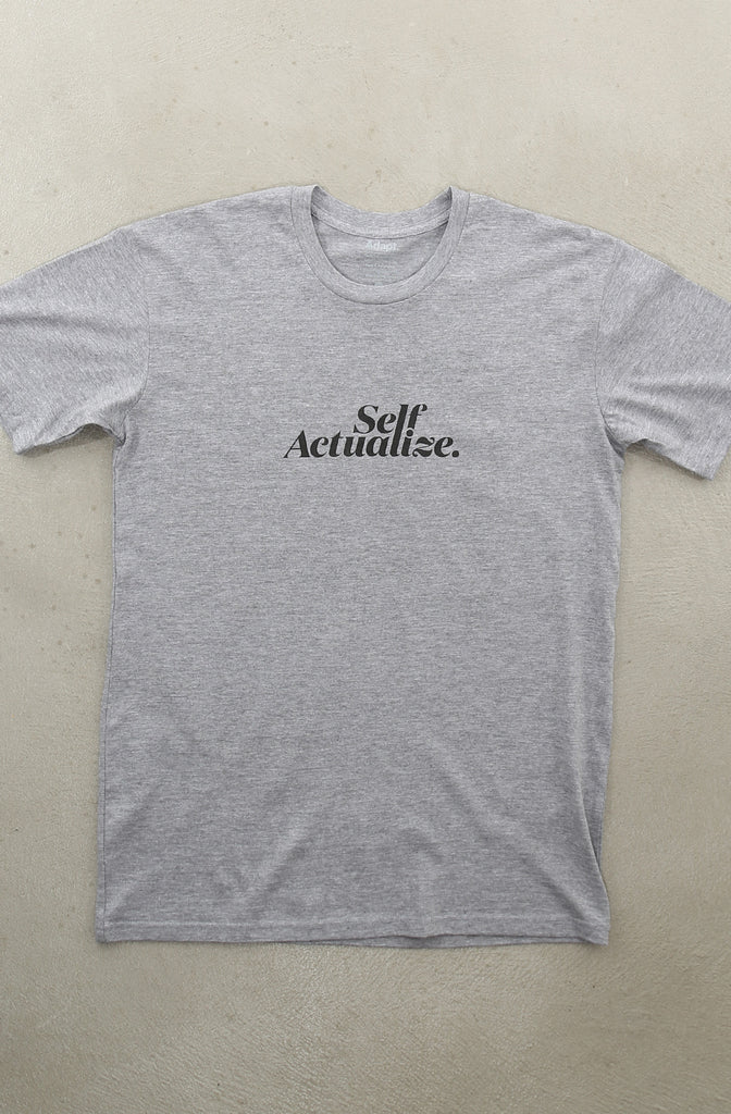 Self Actualize (Men's Heather A1 Tee)