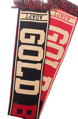 Gold Blooded (Red/Gold Scarf)