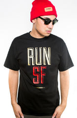 Colin Kaepernick X Adapt :: Run SF (Men's Black Tee)