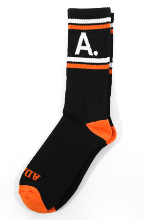 A-Type (Black/Orange Socks)