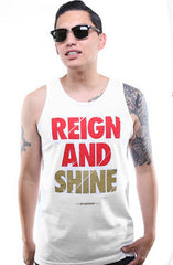 Reign and Shine (Men's White Tank)