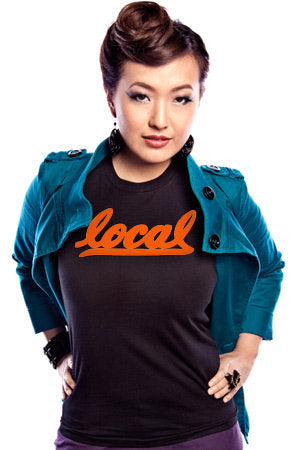 Local II (Women's Black/Orange Tee)