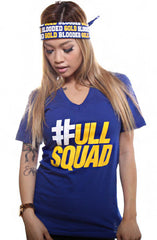 Full Squad (Women's Royal V-Neck)