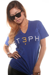 3 (Women's Royal V-Neck)