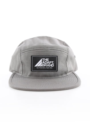 The Adapt Brand (Silver 5-Panel Camp Hat)
