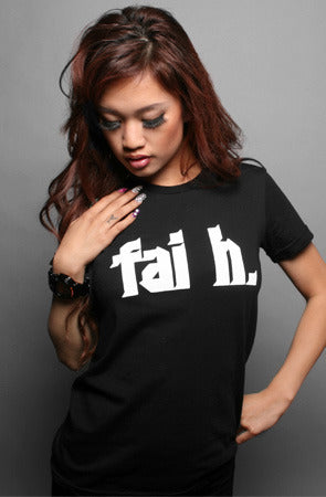 Faith (Women's Black Tee)