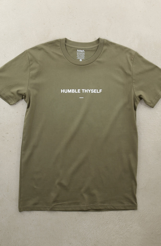 Humble Thyself II (Men's Army A1 Tee)