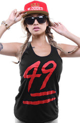Booger Kids X Adapt :: Keep It 49 (Women's Black Tank Top)