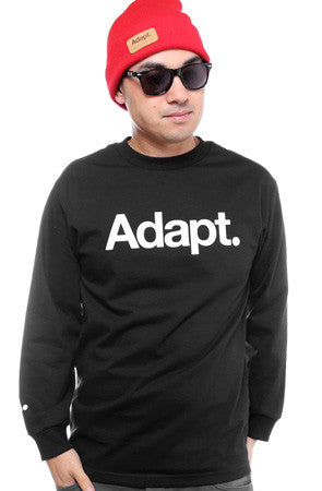 CTA (Men's Black Long Sleeve Tee)