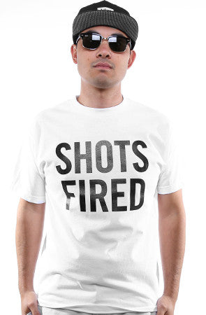 Breezy Excursion X Adapt :: Shots Fired (Men's White Tee)