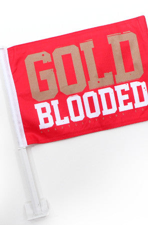 Gold Blooded (Red Car Flag)