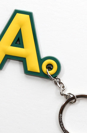 A-Type (Green/Gold Keychain)